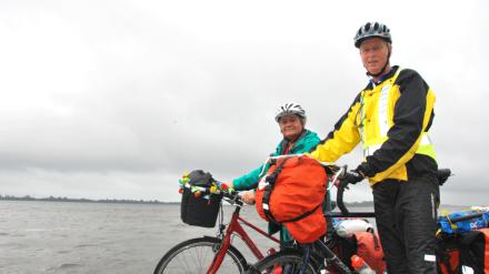 Ehepaar-Thiel-auf-Radtour